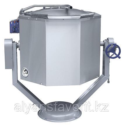 Котел пищеварочный ABAT КПЭМ-100 ОР опрокидываемый с ручным приводом, фото 2
