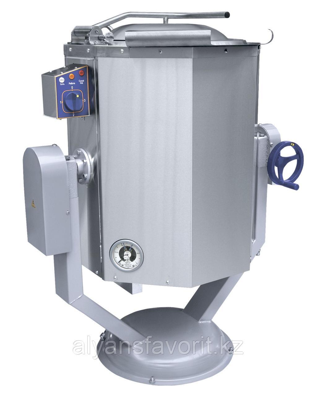 Котел пищеварочный ABAT КПЭМ-60 ОР опрокидываемый с ручным приводом