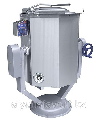 Котел пищеварочный ABAT КПЭМ-60 ОР опрокидываемый с ручным приводом, фото 2