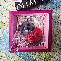 """Новогоднее мыло в подарочной коробке  """"Счастье"""""""