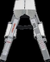 Стремянки 2-х сторонние комбинированные, стальные NV100