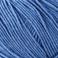 Пряжа 'Jeans' 55 хлопок, 45 акрил 160м/50гр (16 яр. голубой)