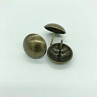 Гвозди декоративные  16 мм, бронза - 300 штук.Китай