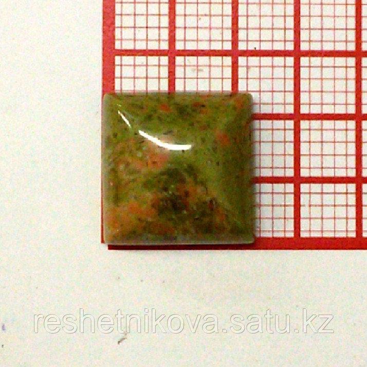 Кабошон квадрат 12 мм