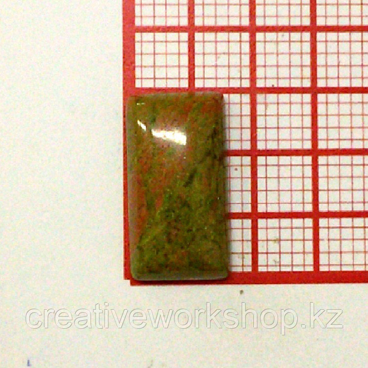Кабошон прямоугольник 8*15 мм