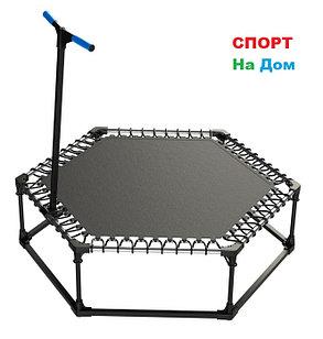 Фитнес батут для джампинга Leco-IT Fit диам. 135 см. до 90 кг, фото 2