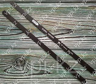 Полотно ножовочное черное, 24TPI, 300мм. De&li