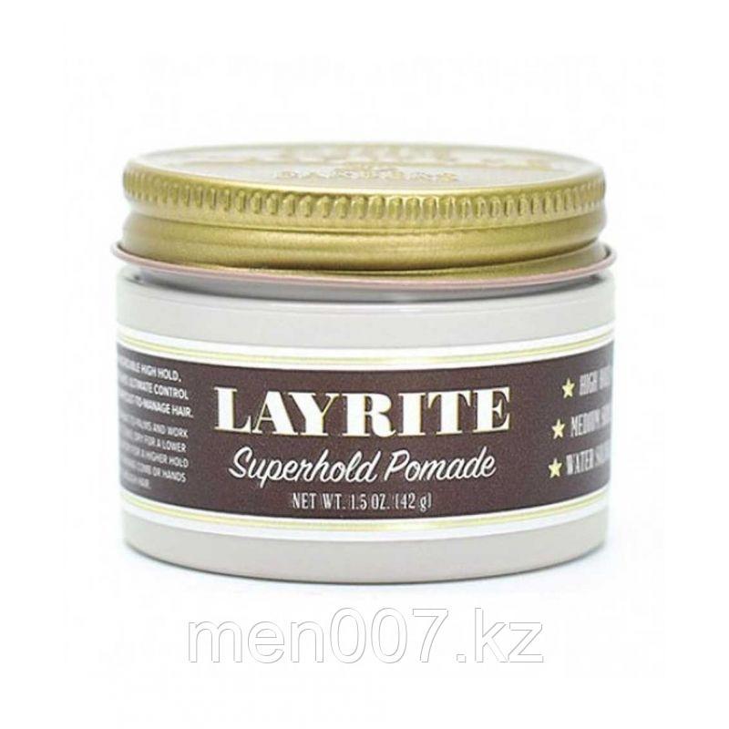Layrite Superhold Pomade (помада для укладки волос) 42 г.