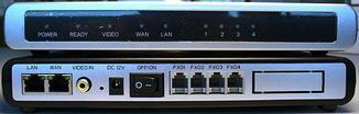 IP шлюз Grandstream GXW4104