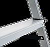 Стремянка двухсторонняя, комбинированная стальная NV 100, 4 ступени, фото 2