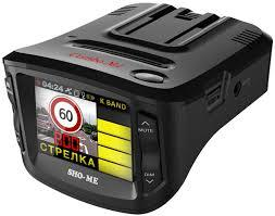 Автомобильный радар-детектор - видео регистратор Sho-Me Combo1 a12