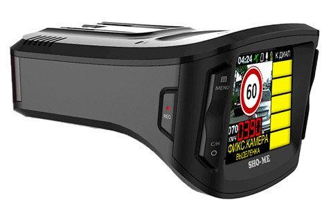 Автомобильный радар-детектор - видео регистратор Sho-Me Combo 5 a12, фото 2