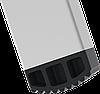Стремянка двухсторонняя алюминиевая, широкая ступень 130 мм NV100, 3 ступени, фото 5