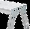 Стремянка двухсторонняя алюминиевая NV100, 3 ступени, фото 7