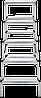 Стремянка двухсторонняя алюминиевая NV200,  5 ступеней, фото 2