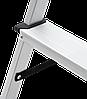 Стремянка двухсторонняя алюминиевая NV200,  5 ступеней, фото 6