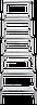 Стремянка двухсторонняя алюминиевая NV200,  6 ступеней, фото 2