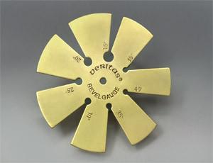 Угломер Veritas Bevel Gauge, для проверки углов заточки стамесок