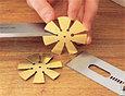 Угломер Veritas Bevel Gauge, для проверки углов заточки стамесок, фото 2