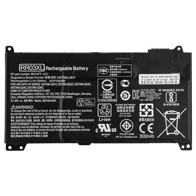 Аккумулятор HP RR03XL, ProBook 430 440 450 470 G4 11.4V 3930 mAh