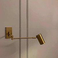 Настенный светильник (бра) золотой