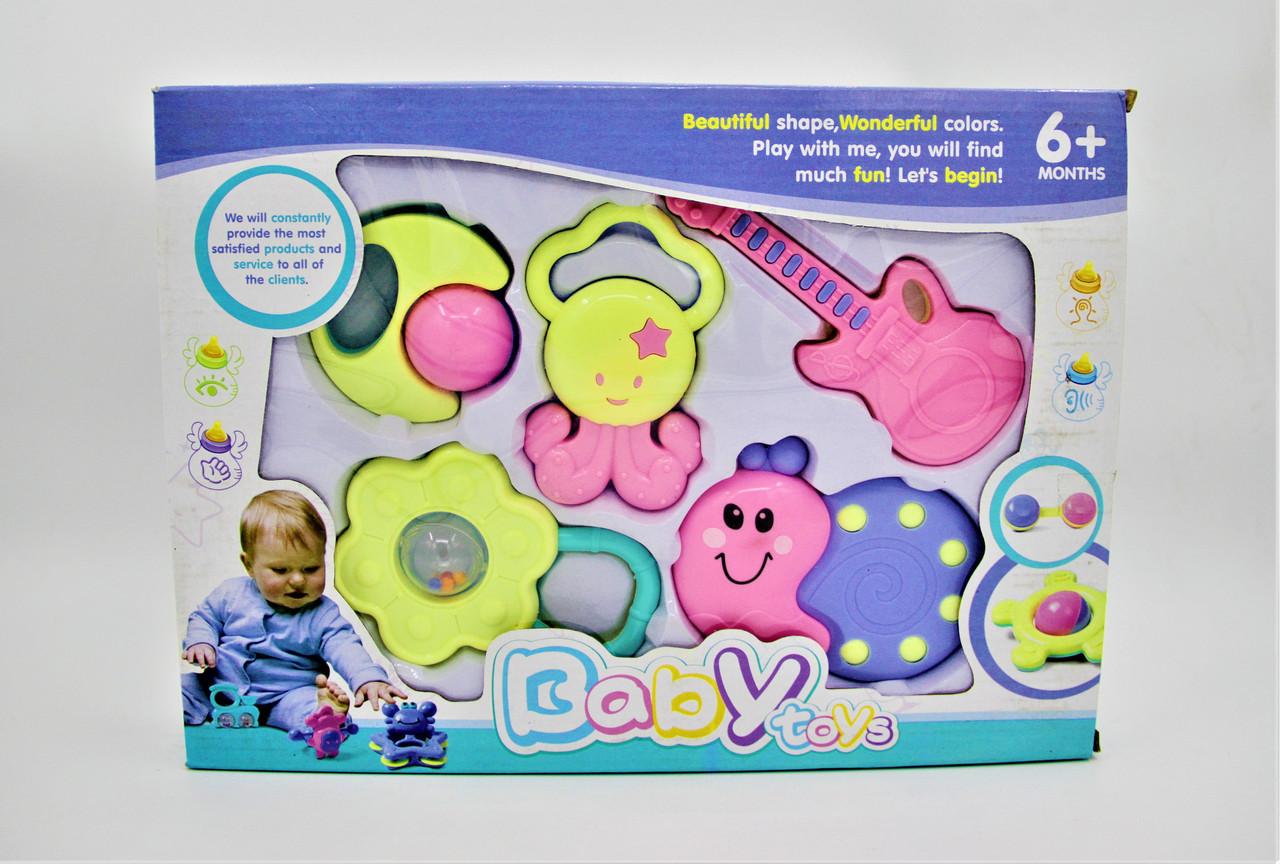 """Погремушки для детей """"Babby toys"""" 6+ месяцев"""
