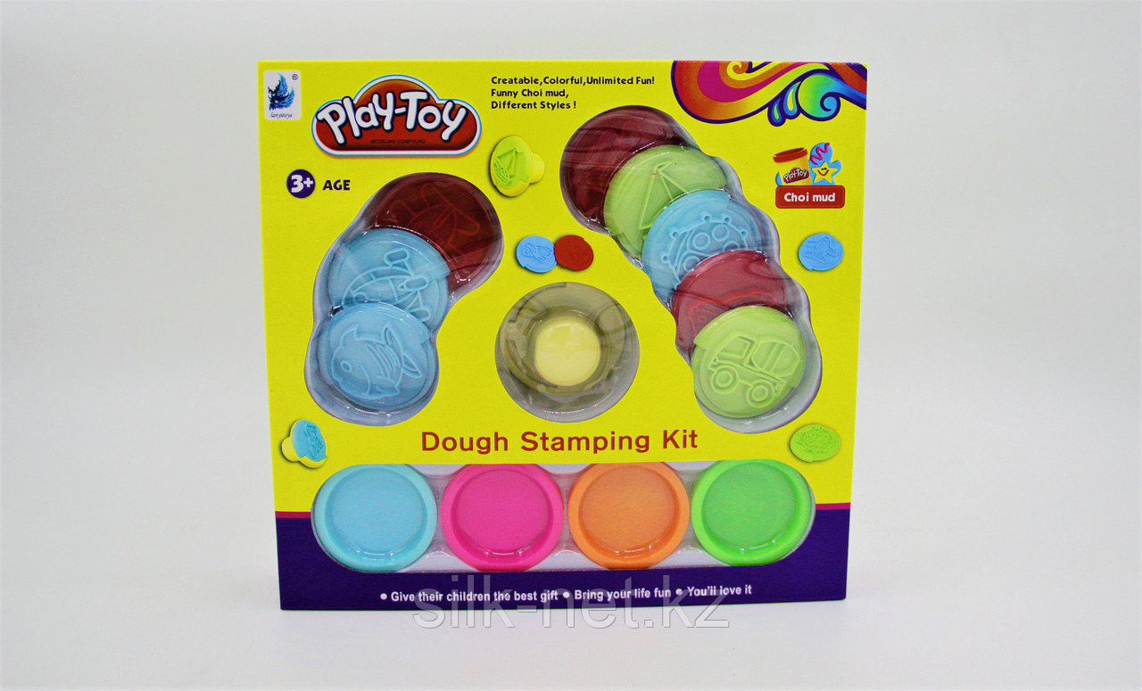 Масса для лепки Play-Toy