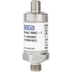 Преобразователь давления с выходным сигналом CANopen® и J1939 Применение для мобильной гидравлики.Модель MHC-1