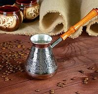 Турка для кофе медная «Роза», 0,5 л, фото 1