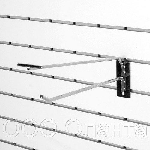 Крючок одинарный с держателем ценника (L=150 мм) арт. К325