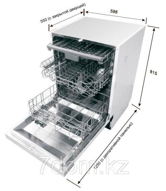 Встраиваемая посудомойка 60 см Teka  DW9 70 FI