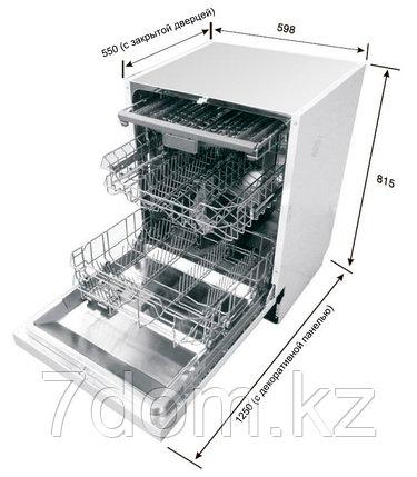 Встраиваемая посудомойка 60 см Teka  DW9 70 FI, фото 2