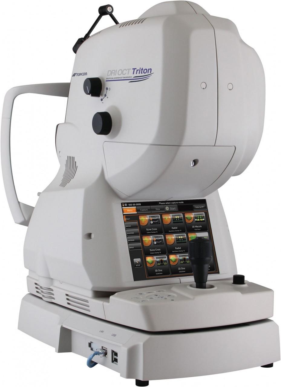 Оптический когерентный томограф Topcon DRI OCT Triton