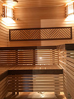 """Финская сауна """"ЗВЕЗДНОЕ НЕБО"""" (с парообразователем). Премиум дизайн. Размер = 2,3 х 2,4 х 2,2 м. Адрес: г. Алматы, мкр-н Ерменсай. 26"""