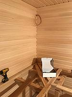 """Финская сауна """"ЗВЕЗДНОЕ НЕБО"""" (с парообразователем). Премиум дизайн. Размер = 2,3 х 2,4 х 2,2 м. Адрес: г. Алматы, мкр-н Ерменсай. 45"""
