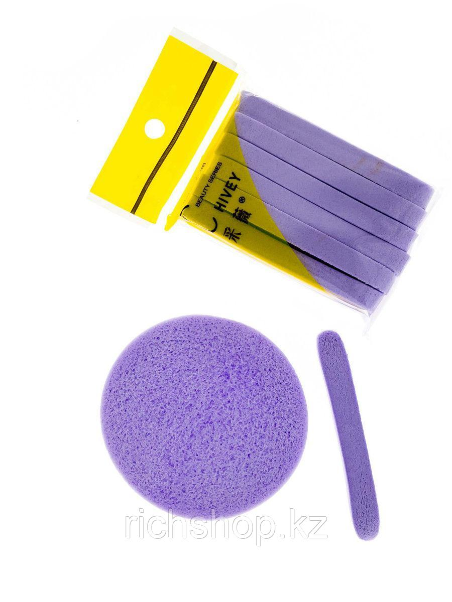 Спонжи Косметологические Сжатые Упаковка 12 Шт