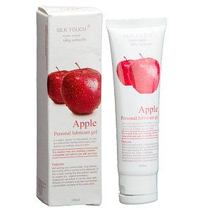 Silk Touch - оральная смазка со вкусом яблока (100 мл.)