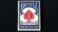 Карты игральные Bicycle Rider Back мини красные\синие 54 листа, размер 6,35х4,57см, фото 1