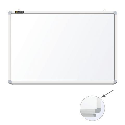 Доска Магнитно-маркерная 90х120см  с полочкой для аксессуаров