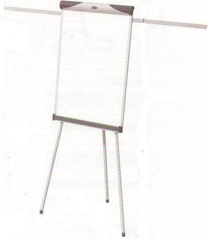 Доска-флипчарт 60x90см, магнитно-маркерная, 2 держателя, 3 ножки, пробковая вставка Data Zone