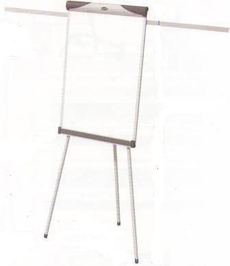 Доска-флипчарт 60x90см, магнитно-маркерная, 2 держателя, 3ножки, пробк.вставка Data Zone, фото 2
