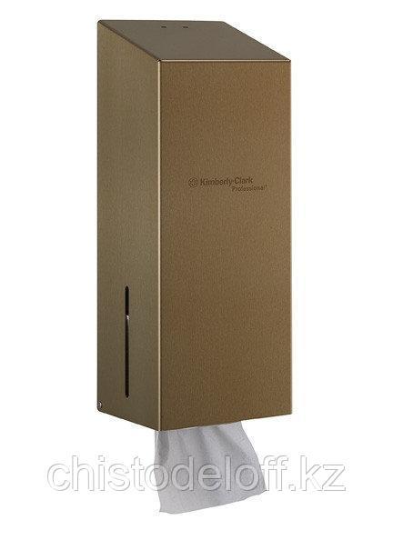 Диспенсер из нержавеющей стали для туалетной бумаги в пачках Kimberly Clark Professional