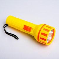 Фонарик ручной 'Пуночка', 1 LED, 4.2х13 см, микс (комплект из 24 шт.)