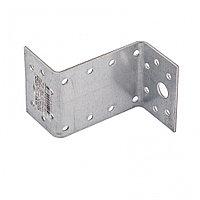 Крепежный уголок Z-образный, KUZ 35 х 70 х 55 мм, цинк Россия Сибртех