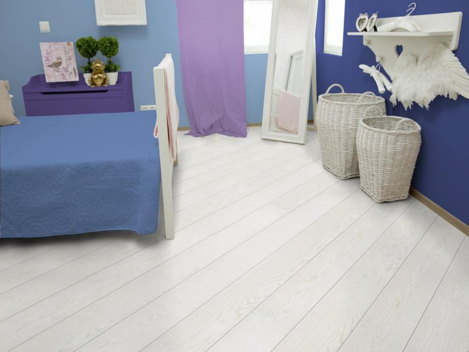 Паркетная доска Upofloor New Wave Дуб Grand 138 White Marble