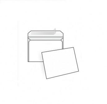 Конверт С5, 162*229, белый,80 гр, отрывная лента, тангир, клапан по короткой стороне.