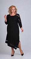 Платье Диамант-1480, черный, 52