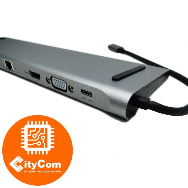Док-станция для Apple MacBookHydraDock Baseus, 10-портовая USB-C адаптер и переходник. Арт.6083