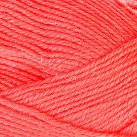Пряжа 'Бамбино' 35 шерсть меринос, 65 акрил 150м/50гр (116, коралл неон)