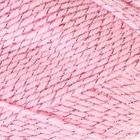 Пряжа 'Праздничная' 48 кашмилон, 48 акрил, 4 метанит 160м/50гр (056 розовый) (комплект из 10 шт.)